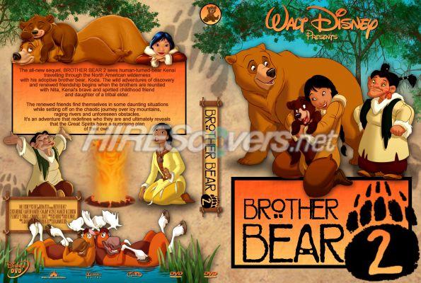 DVD Cover Custom DVD covers BluRay label movie art - DVD ... Brother Bear Dvd Menu