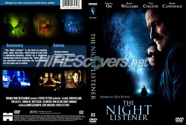 Amazoncom The Night Listener Robin Williams Toni