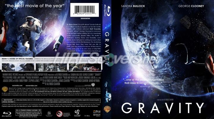 Amazoncom Gravity Bluray Sandra Bullock George