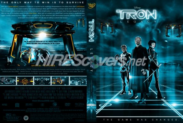 tron legacy dvd cover art. Tron Legacy by Wessim