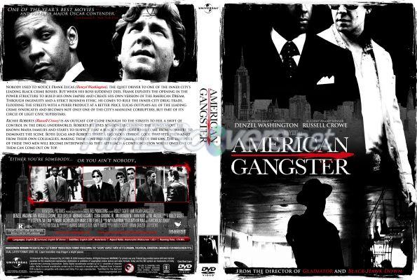 Dvd Cover Custom Dvd Covers Bluray Label Movie Art Dvd Custom Covers A American Gangster 2007