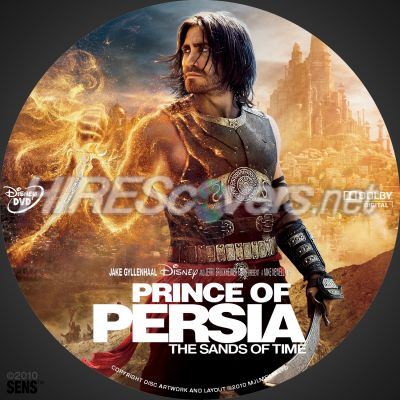 Dvd Cover Custom Dvd Covers Bluray Label Movie Art Dvd Custom Labels P Prince Of Persia The Sands Of Time