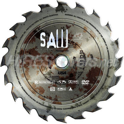 Saw Movies Dvd Covers Heirofthedog's Saw 1 Dvd Cover