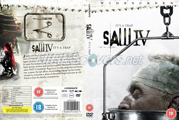 Saw Movies Dvd Covers Saw 4 Dvd Cover Dvd Label