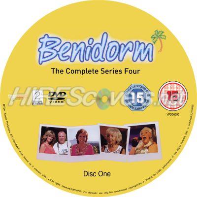 Benidorm Series 8 Dvd Benidorm Series 4 Dvd Cover