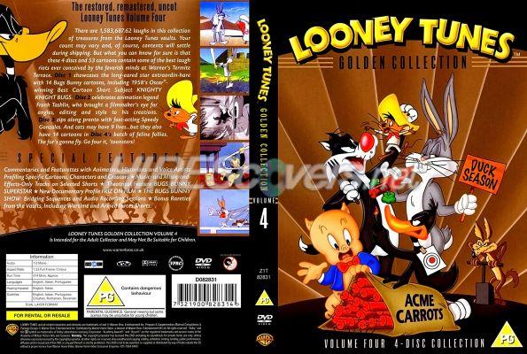 Looney Tunes Golden Collection Volume 4 DVD