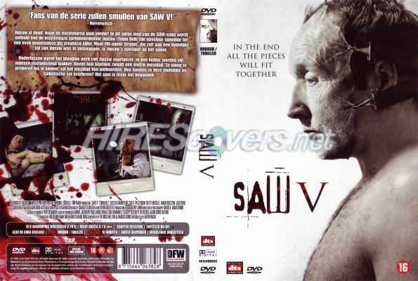 Saw Movies Dvd Covers Saw v 2008 Dutch Dvd Cover