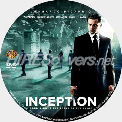 Inception Dvd Cover Art Inception Dvd Cover Art