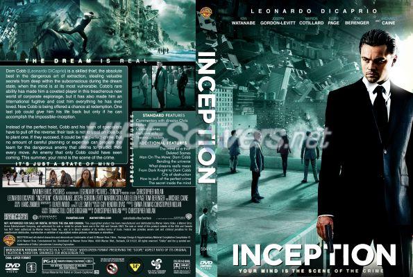 Inception Dvd Cover Art inception DVD Cover  DVD Label