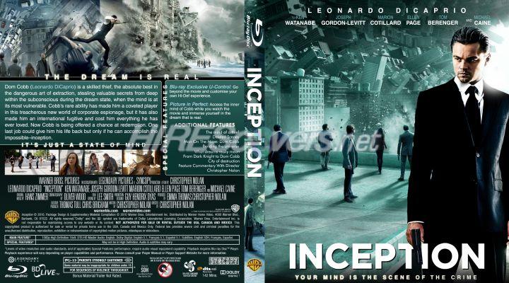 Inception Dvd Cover Art DVD Cover Custom DVD c...