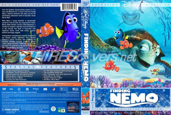 Finding Nemo Dvd Case Pictures to Pin on Pinterest - PinsDaddy