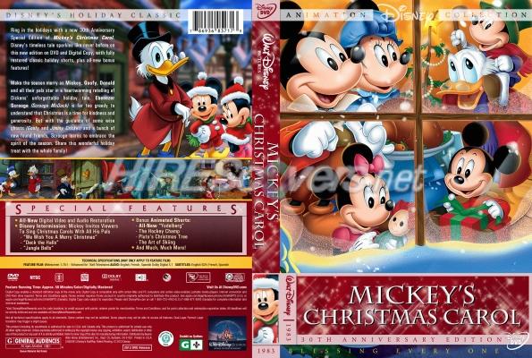 Mickeys Christmas Carol Dvd.Dvd Cover Custom Dvd Covers Bluray Label Movie Art Dvd