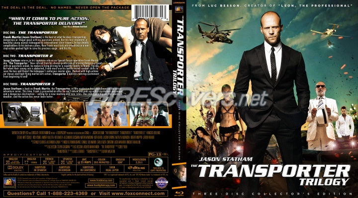 cover Transporter dvd
