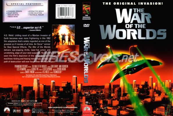 Dvd World War z War of The Worlds 1953 Dvd
