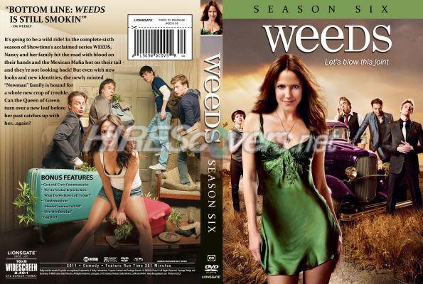 weeds season 6 cover. Weeds - Season 6 by the_legend