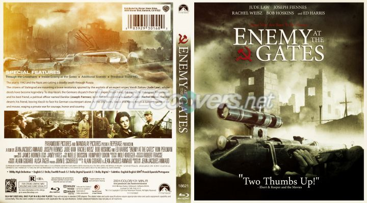 a movie review on enemy at the gates A movie review of enemy at the gates, a jean-jacques annaud film starring jude law, joseph fiennes, rachel weisz, and ed harris.