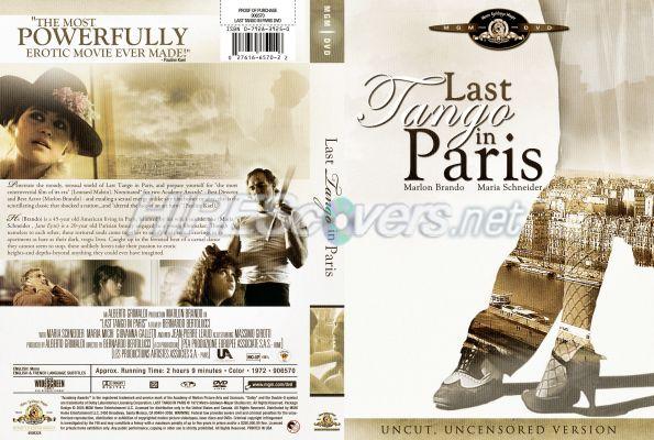 Movie Last Tango in Paris Last Tango in Paris Dvd Cover