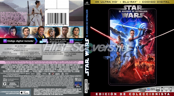 Dvd Cover Custom Dvd Covers Bluray Label Movie Art Blu Ray 4k Uhd Custom Covers S Star Wars The Rise Of Skywalker 2019