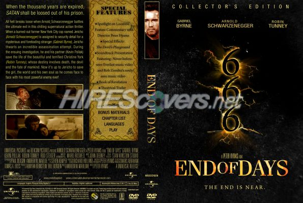 an overview of the end of days movie 100 pounds overweight, loaded up on steroids and suffering from a debilitating autoimmune disease, joe cross is at the end of his rope and the end of his hope.