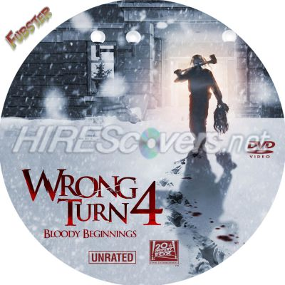 dvd cover custom dvd covers bluray label movie art dvd custom labels w wrong turn 4 dvd label. Black Bedroom Furniture Sets. Home Design Ideas
