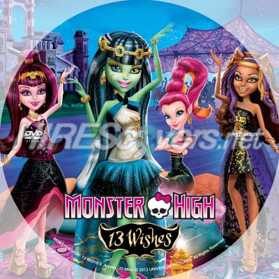 Monster High 13 Wishes Dvd