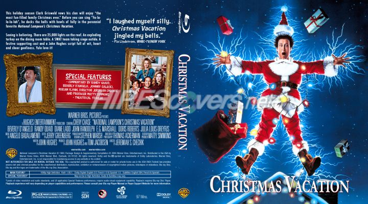 national lampoons christmas vacation dvd cover dvd label blu ray cover blu