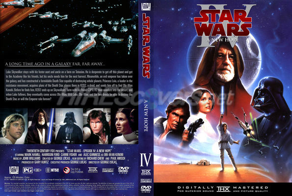 Dvd Cover Custom Dvd Covers Bluray Label Movie Art Dvd Custom Covers S Star Wars Episode Iv A New Hope