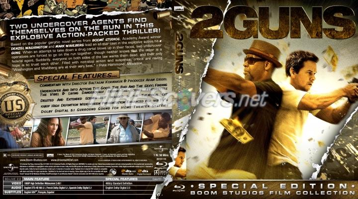 DVD Cover Custom DVD covers BluRay label movie art ...2 Guns Blu Ray Cover