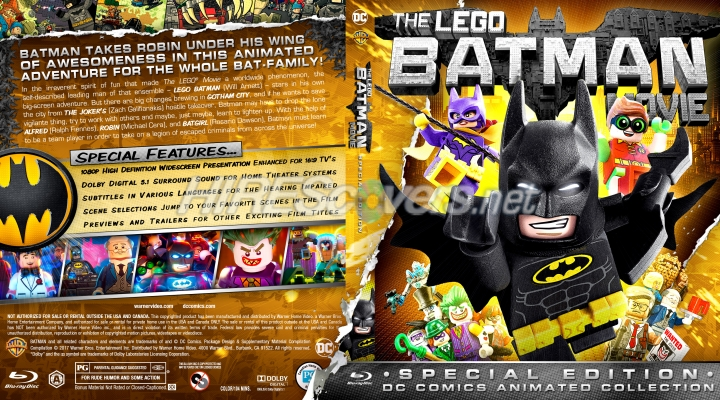 lego - the movie blu-ray special edition