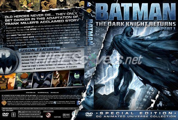 Buy Batman Dark Knight Returns Part 1 on DVD | Sanity