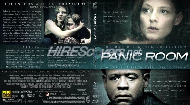 Dvd cover custom dvd covers bluray label movie art the for Custom panic room