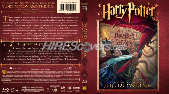 harry potter and the chamber of secrets blu ray