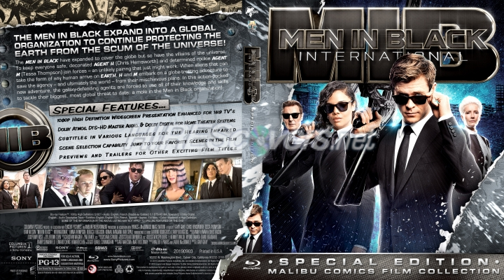 Dvd Cover Custom Dvd Covers Bluray Label Movie Art Additional Comic Book Publishers Collection Men In Black International 2019