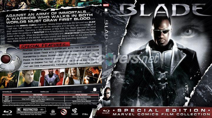 Blade (1998) Poster #1 - Trailer Addict