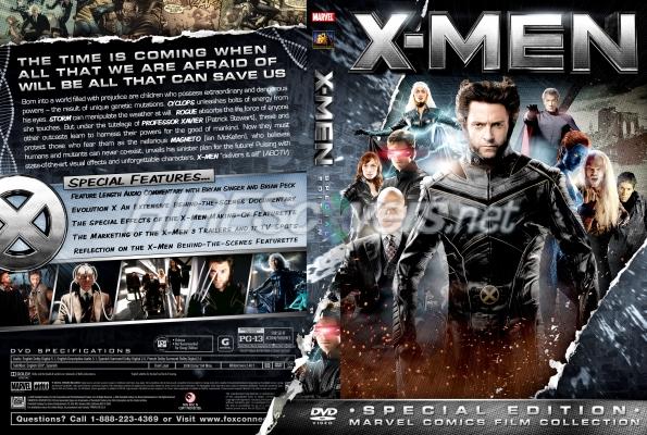 X Men Dvd Cover: DVD Cover Custom DVD Covers BluRay Label Movie Art