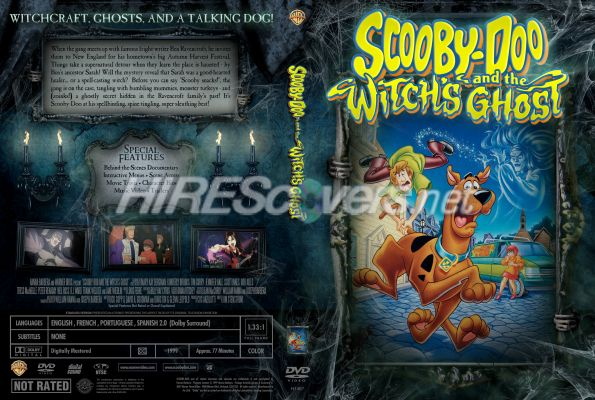 Dvd Cover Custom Dvd Covers Bluray Label Movie Art Scooby Doo Collection Scooby Doo And The Witch S Ghost