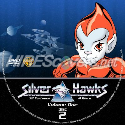 Thundercats  Collection on Custom Dvd Cover Art     Miscellaneous Dvd Labels   Silverhawks