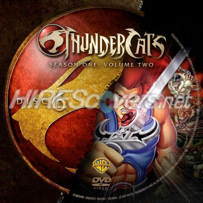 Thundercats on Custom Dvd Cover Art     Thundercats   Thundercats  Season 1  Volume 2