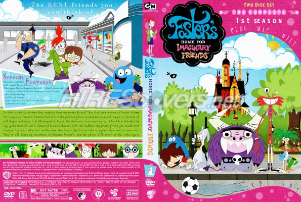 Fosters home for imaginary friends dvd box set