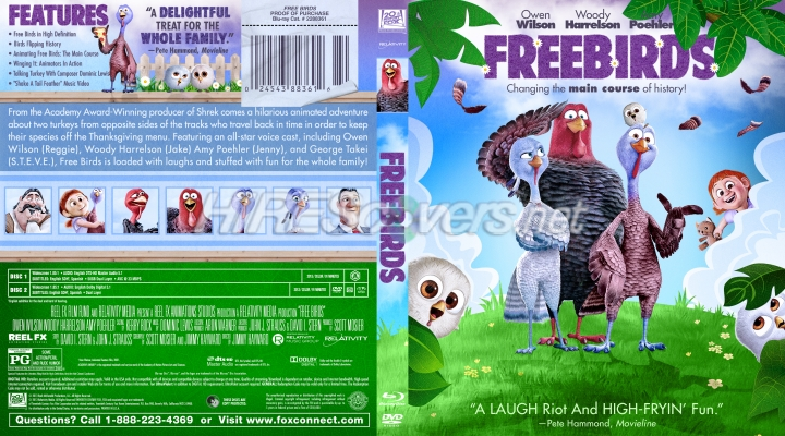 Free Birds by wysmommy | DVD Covers, DVD Labels, Blu Ray ...