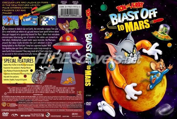 tom and jerry blast off to mars vhs - photo #33