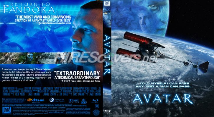 avatar dvd cover art. Custom DVD Cover Art - Blu-ray