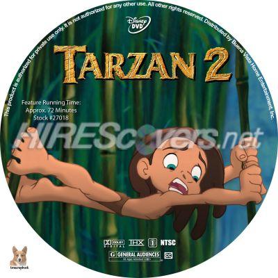 Tarzan 2 Movie Tarzan 2 2005 Dvd Cover