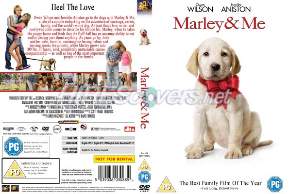 marley and me dvd cover. marley amp; me by vivid666