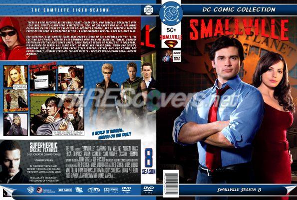 Smallville Season 11 Dvd Smallville Season 8 Dvd Cover