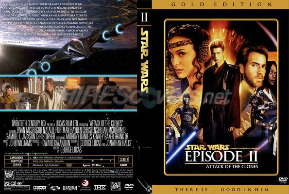 Star Wars The Clone Wars Dvd Cover Star Wars Episode 2 Dvd Cover