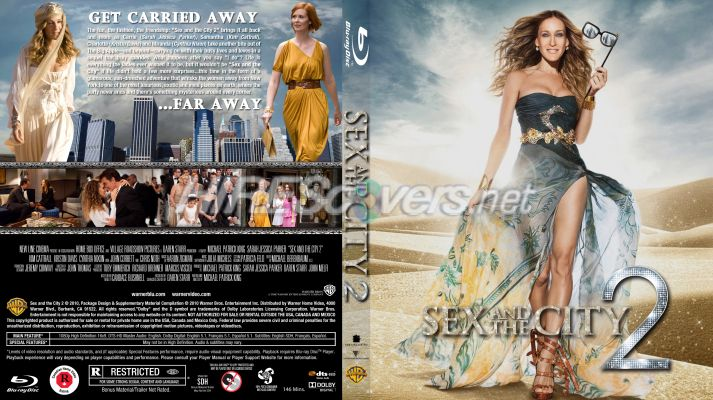 Sex and the city movie dvd cover