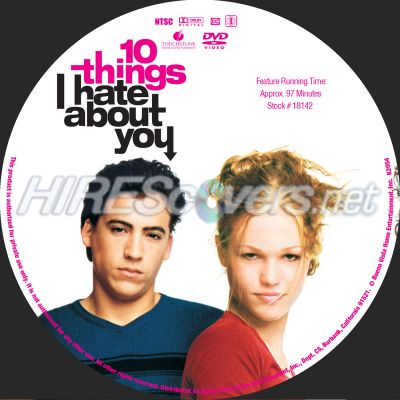 10 things i hate about you blu ray