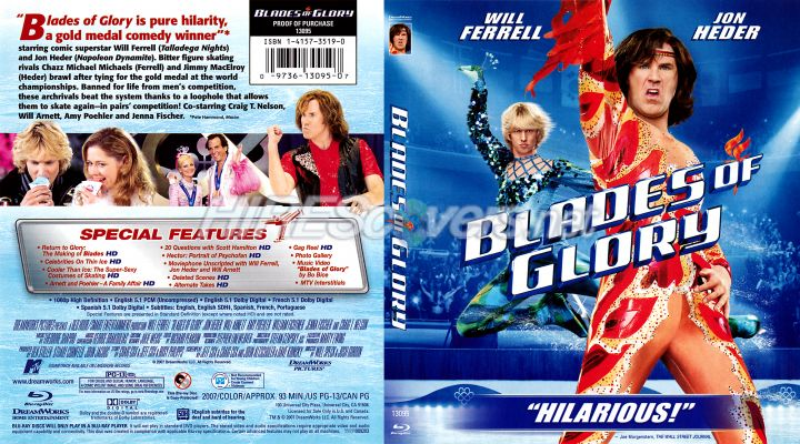 Blades of Glory Dvd Cover Blade of Glory Dvd Cover