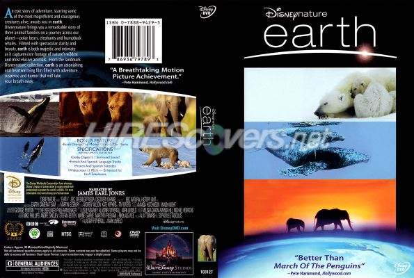 Disneynature Earth DVD Cover